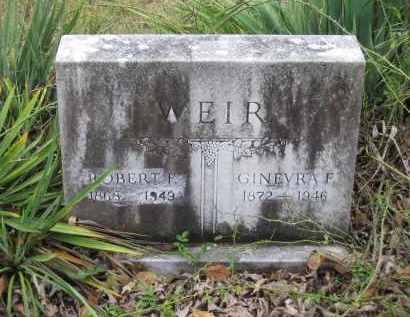 WEIR, ROBERT FRANKLIN - Lawrence County, Arkansas | ROBERT FRANKLIN WEIR - Arkansas Gravestone Photos