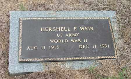WEIR (VETERAN WWII), HERSHELL FRANK - Lawrence County, Arkansas   HERSHELL FRANK WEIR (VETERAN WWII) - Arkansas Gravestone Photos