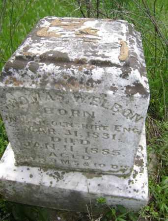 WELBON, THOMAS - Lawrence County, Arkansas | THOMAS WELBON - Arkansas Gravestone Photos