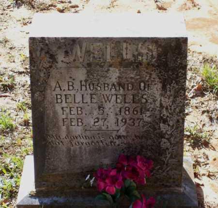 "WELLS, ABRAM B.  ""A. B."" - Lawrence County, Arkansas   ABRAM B.  ""A. B."" WELLS - Arkansas Gravestone Photos"