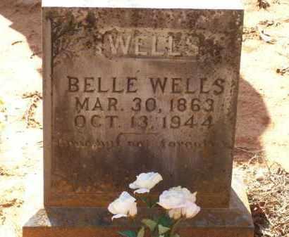 HALCUM WELLS, BELLE - Lawrence County, Arkansas | BELLE HALCUM WELLS - Arkansas Gravestone Photos