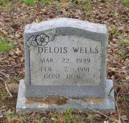 WHITTAKER WELLS, DELOIS MAE - Lawrence County, Arkansas | DELOIS MAE WHITTAKER WELLS - Arkansas Gravestone Photos