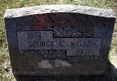 WELLS, GEORGE L. - Lawrence County, Arkansas   GEORGE L. WELLS - Arkansas Gravestone Photos
