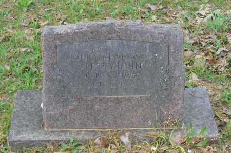 """WELLS, LAURA OLIVE """"OLLIE"""" - Lawrence County, Arkansas 