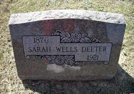DEETER, SARAH JANE WRIGHT WELLS - Lawrence County, Arkansas | SARAH JANE WRIGHT WELLS DEETER - Arkansas Gravestone Photos