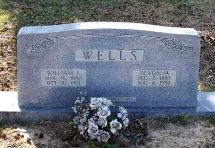 WELLS, DEVOSHA E. - Lawrence County, Arkansas | DEVOSHA E. WELLS - Arkansas Gravestone Photos