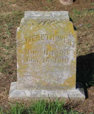 WERT, NANCY ELIZABETH - Lawrence County, Arkansas | NANCY ELIZABETH WERT - Arkansas Gravestone Photos