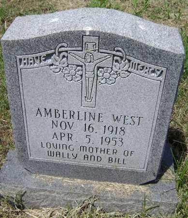 WEST, AMBERLINE - Lawrence County, Arkansas | AMBERLINE WEST - Arkansas Gravestone Photos