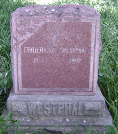 WESTPHAL, FREDERICKE - Lawrence County, Arkansas   FREDERICKE WESTPHAL - Arkansas Gravestone Photos