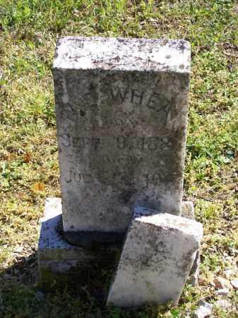 WHEAT (VETERAN CSA), WILLIAM EDWARD - Lawrence County, Arkansas | WILLIAM EDWARD WHEAT (VETERAN CSA) - Arkansas Gravestone Photos