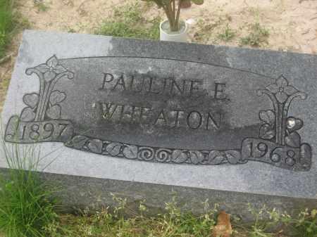 WHEATON, PAULINE E. - Lawrence County, Arkansas   PAULINE E. WHEATON - Arkansas Gravestone Photos
