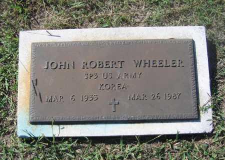 WHEELER (VETERAN KOR), JOHN ROBERT - Lawrence County, Arkansas   JOHN ROBERT WHEELER (VETERAN KOR) - Arkansas Gravestone Photos