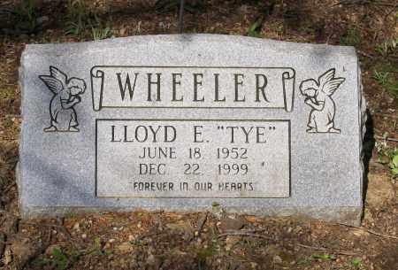 """WHEELER, LLOYD E. """"TYE"""" - Lawrence County, Arkansas   LLOYD E. """"TYE"""" WHEELER - Arkansas Gravestone Photos"""