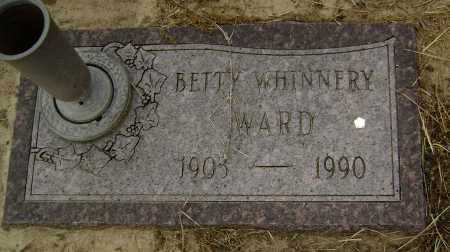 WHINNERY WARD, BETTY O. - Lawrence County, Arkansas | BETTY O. WHINNERY WARD - Arkansas Gravestone Photos