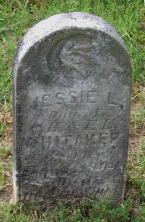 WHITTAKER, JESSIE LEE - Lawrence County, Arkansas | JESSIE LEE WHITTAKER - Arkansas Gravestone Photos
