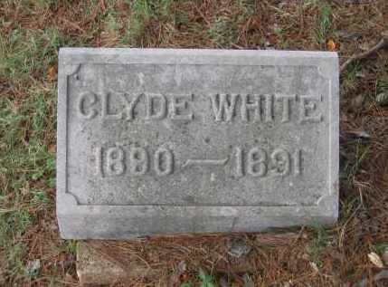 WHITE, CLYDE - Lawrence County, Arkansas | CLYDE WHITE - Arkansas Gravestone Photos