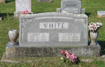 WHITE, EDITH D. - Lawrence County, Arkansas | EDITH D. WHITE - Arkansas Gravestone Photos