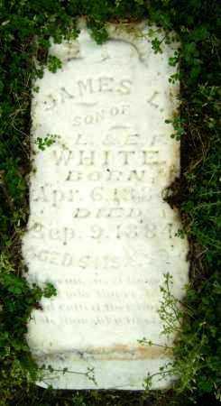 WHITE, JAMES L. - Lawrence County, Arkansas | JAMES L. WHITE - Arkansas Gravestone Photos