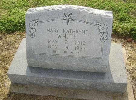 WHITE, MARY KATHRYNE - Lawrence County, Arkansas | MARY KATHRYNE WHITE - Arkansas Gravestone Photos