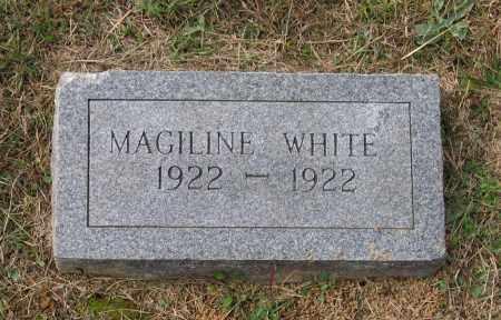WHITE, MAGILINE - Lawrence County, Arkansas | MAGILINE WHITE - Arkansas Gravestone Photos