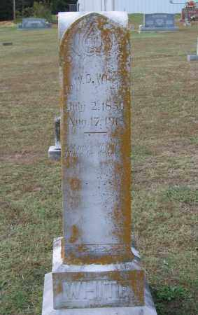 WHITE, MD, WILLIAM DAVID - Lawrence County, Arkansas | WILLIAM DAVID WHITE, MD - Arkansas Gravestone Photos