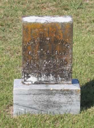 WHITE, NANCY JOSEPHINE - Lawrence County, Arkansas   NANCY JOSEPHINE WHITE - Arkansas Gravestone Photos