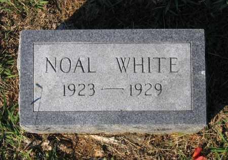WHITE, NOAL - Lawrence County, Arkansas   NOAL WHITE - Arkansas Gravestone Photos