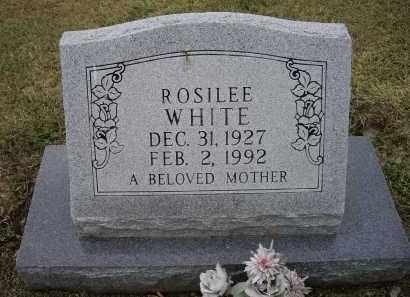 WHITE, ROSILEE - Lawrence County, Arkansas | ROSILEE WHITE - Arkansas Gravestone Photos