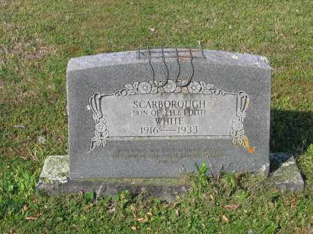 WHITE, SCARBOROUGH - Lawrence County, Arkansas   SCARBOROUGH WHITE - Arkansas Gravestone Photos