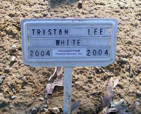 WHITE, TRISTAN LEE - Lawrence County, Arkansas | TRISTAN LEE WHITE - Arkansas Gravestone Photos