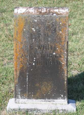 """WHITE, TOLLETT FRANKLIN  """"T. F."""" - Lawrence County, Arkansas 