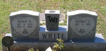 WHITE, THOMAS WILLIAM - Lawrence County, Arkansas   THOMAS WILLIAM WHITE - Arkansas Gravestone Photos