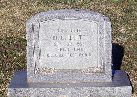 "WHITE, WILLIAM E. ""W. E."" - Lawrence County, Arkansas 