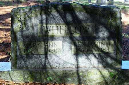 CAMPBELL WHITLOW, MARY ANN - Lawrence County, Arkansas | MARY ANN CAMPBELL WHITLOW - Arkansas Gravestone Photos