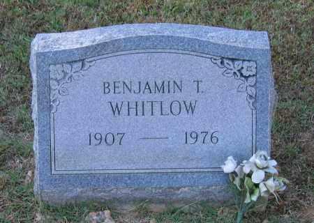 WHITLOW, BENJAMIN TOLBERT - Lawrence County, Arkansas | BENJAMIN TOLBERT WHITLOW - Arkansas Gravestone Photos