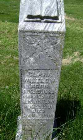 WHITLOW, CLARA - Lawrence County, Arkansas   CLARA WHITLOW - Arkansas Gravestone Photos