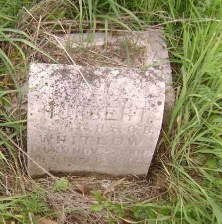 WHITLOW, HUBERT - Lawrence County, Arkansas | HUBERT WHITLOW - Arkansas Gravestone Photos