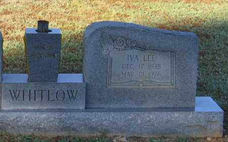 WHITLOW, IVA LEE (CLOSE UP VIEW) - Lawrence County, Arkansas | IVA LEE (CLOSE UP VIEW) WHITLOW - Arkansas Gravestone Photos