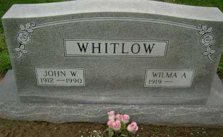 WHITLOW, JOHN W. - Lawrence County, Arkansas | JOHN W. WHITLOW - Arkansas Gravestone Photos