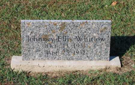 WHITLOW, JOHNNEY ELLIS - Lawrence County, Arkansas | JOHNNEY ELLIS WHITLOW - Arkansas Gravestone Photos