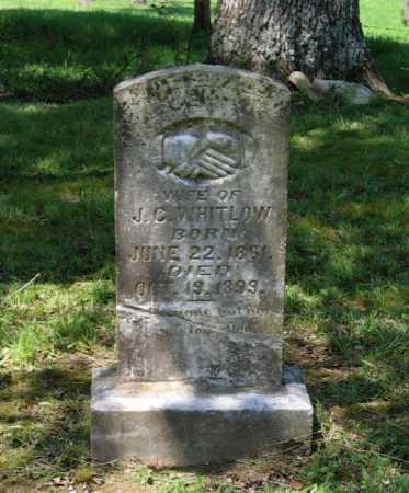 WHITLOW, LUDA ANN - Lawrence County, Arkansas | LUDA ANN WHITLOW - Arkansas Gravestone Photos