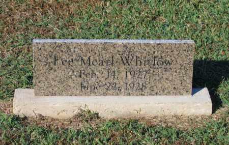 WHITLOW, LEE MEARL - Lawrence County, Arkansas   LEE MEARL WHITLOW - Arkansas Gravestone Photos