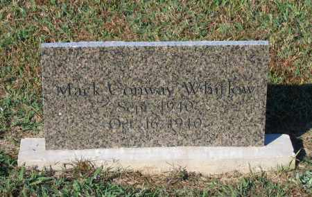 WHITLOW, MACK CONWAY - Lawrence County, Arkansas | MACK CONWAY WHITLOW - Arkansas Gravestone Photos