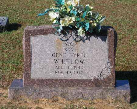 "WHITLOW, MICHAEL EUGENE TYREL ""GENE"" - Lawrence County, Arkansas   MICHAEL EUGENE TYREL ""GENE"" WHITLOW - Arkansas Gravestone Photos"