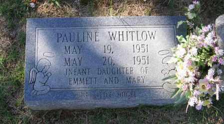WHITLOW, PAULINE - Lawrence County, Arkansas | PAULINE WHITLOW - Arkansas Gravestone Photos