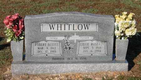 "WHITLOW, ROBERT BETHEL ""BUD"" - Lawrence County, Arkansas | ROBERT BETHEL ""BUD"" WHITLOW - Arkansas Gravestone Photos"