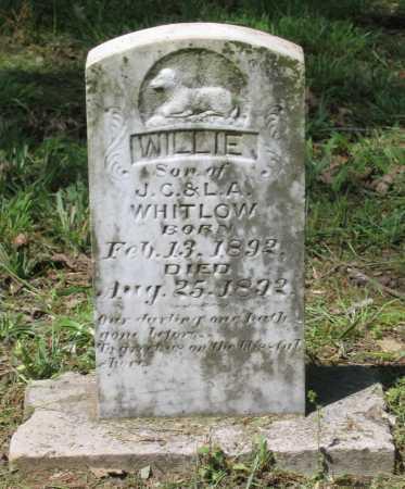 WHITLOW, WILLIE - Lawrence County, Arkansas   WILLIE WHITLOW - Arkansas Gravestone Photos