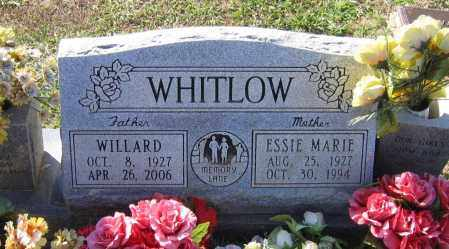 WHITLOW, ESSIE MARIE - Lawrence County, Arkansas | ESSIE MARIE WHITLOW - Arkansas Gravestone Photos