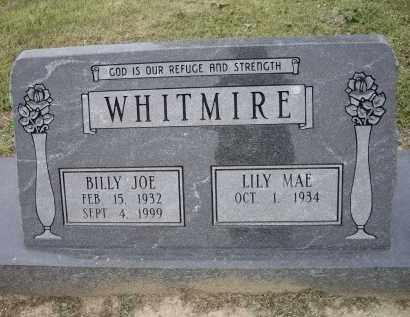 WHITMIRE, BILLY JOE - Lawrence County, Arkansas   BILLY JOE WHITMIRE - Arkansas Gravestone Photos