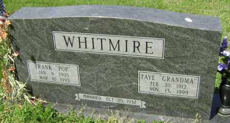 WHITMIRE, FRANK - Lawrence County, Arkansas | FRANK WHITMIRE - Arkansas Gravestone Photos